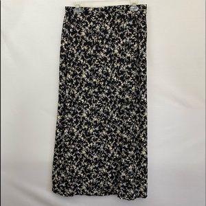 Kathie Lee PLUS SIZE 14 Floral Maxi Skirt  L-25
